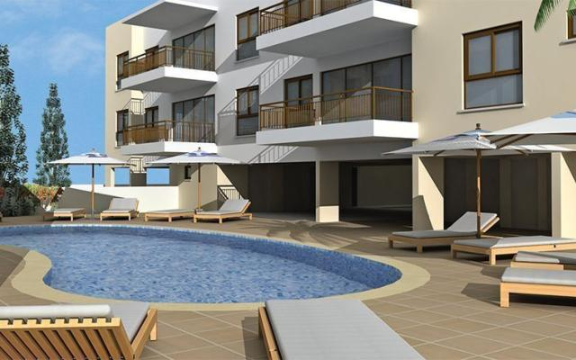Apartment complex to buy in Alethriko