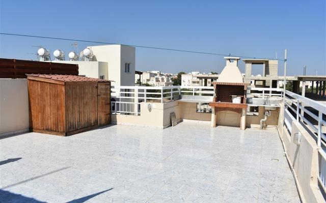 Large veranda in 2 bed apt for sale in Kapparis