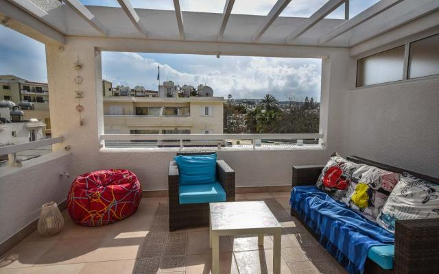 Balcony with amazing views in Pernera apartment