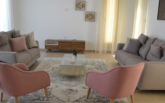 Sitting area of property for sale in Alethriko