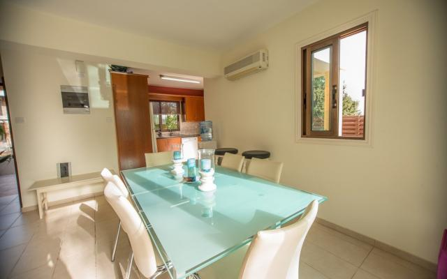 Dining Area in Kapparis Villa for sale