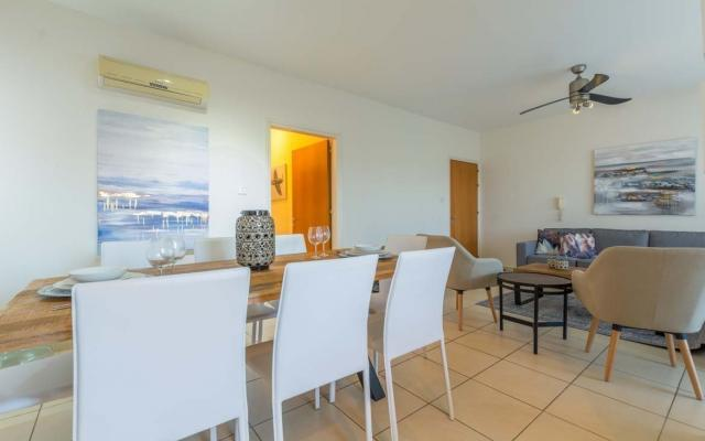 Dining Area in 3 bed apt for sale in Larnaca
