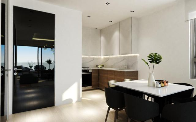 Modern Kitchen in 2 bedroom apartment for sale