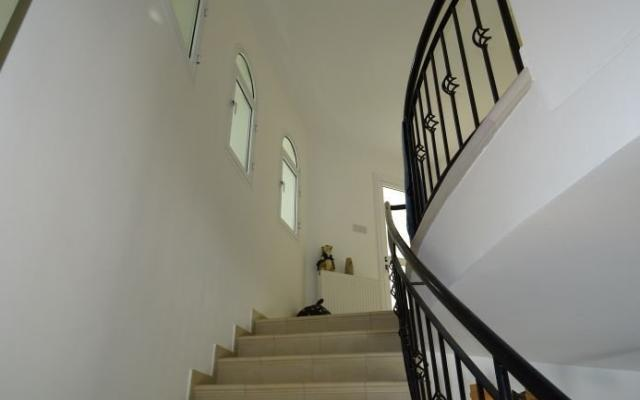 Stairs in Pahos villa for sale