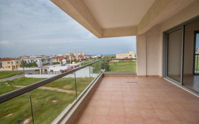 Balcony in Paralimni apartment