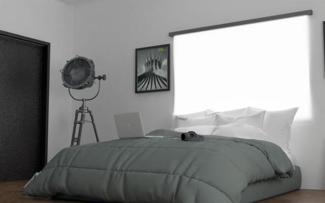 Bedroom in 3 bed house for sale