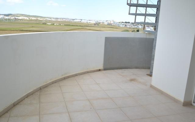 Balcony leading to roof garden