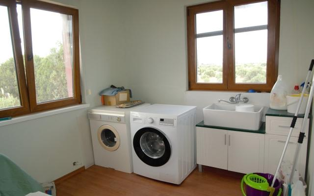 Laundry room on the first floor