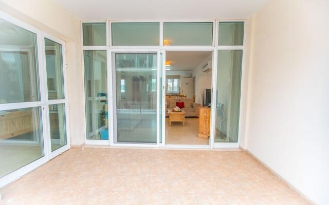 Veranda of 2 bed apt for sale