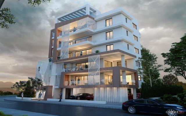 Late afternoon view of the apt for sale in Larnaca