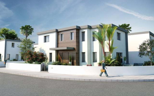 The Villas differ in plot size only, all consist of covered and uncovered verandas, covered garage and generous garden on the property.