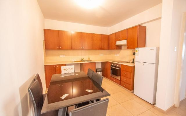 Kitchen in Paralimni flat for sale
