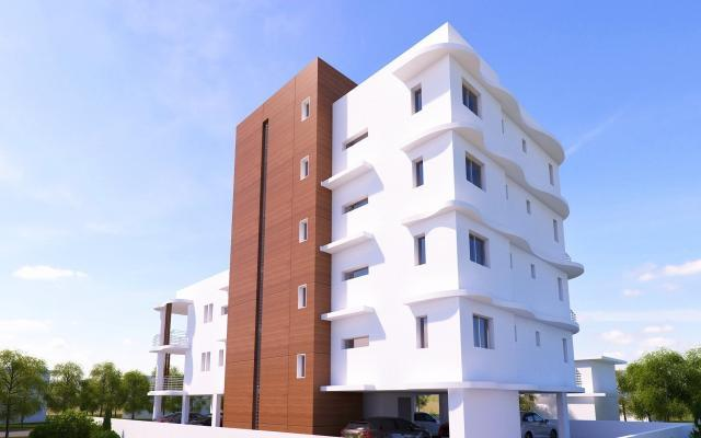 Back view apt to buy in Larnaca