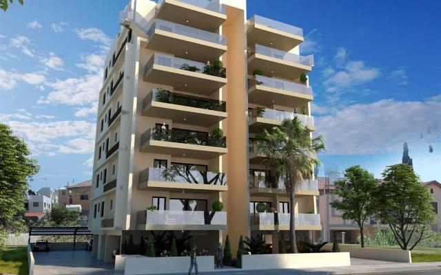 New build apartments in Larnaca