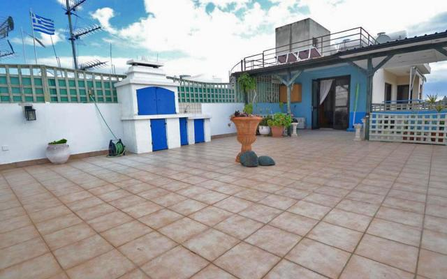 Huge veranda with BBQ area in 2 bed apt for sale