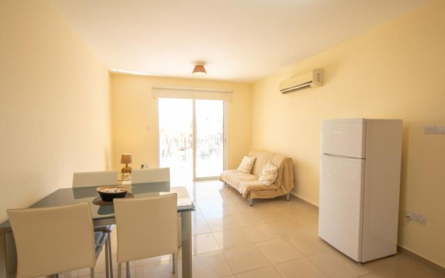 Living Area in Paralimni Apartment