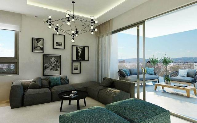 Sitting Area in a luxury apartment in Larnaca