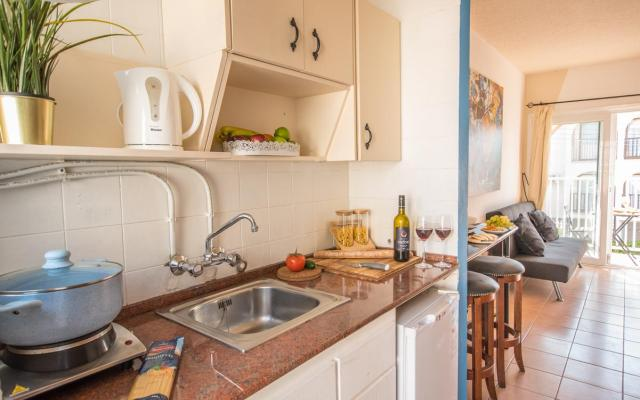 Kitchen in resale apartment