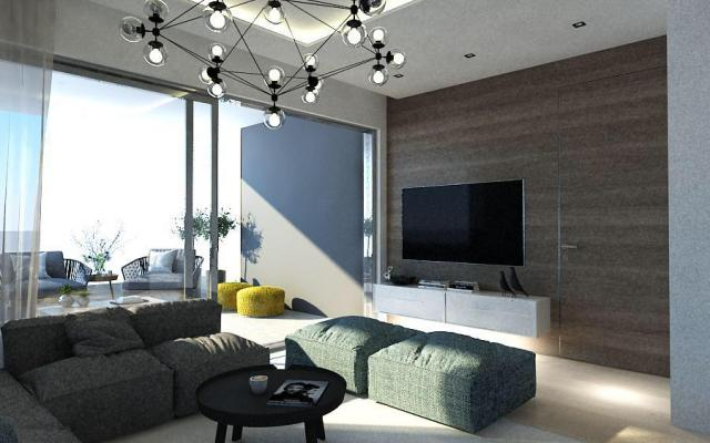 Sitting Area in 2 bedroom apartment for sale