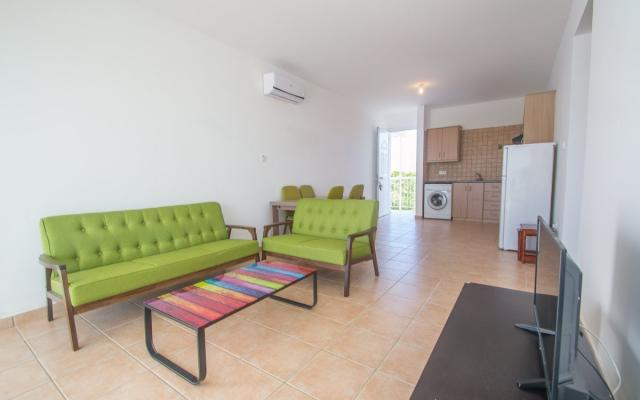 Large living area in Paralimni apartment