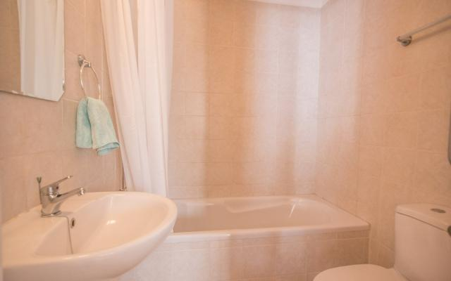 Bathroom in flat for sale in Paralimni
