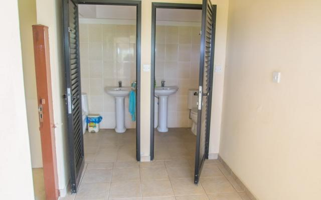 Public Toilets by the pool