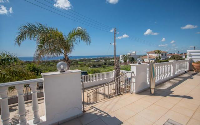 Amazing Sea Views from the villa in Paralimni