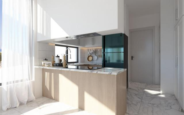 Kitchen in Larnaca property