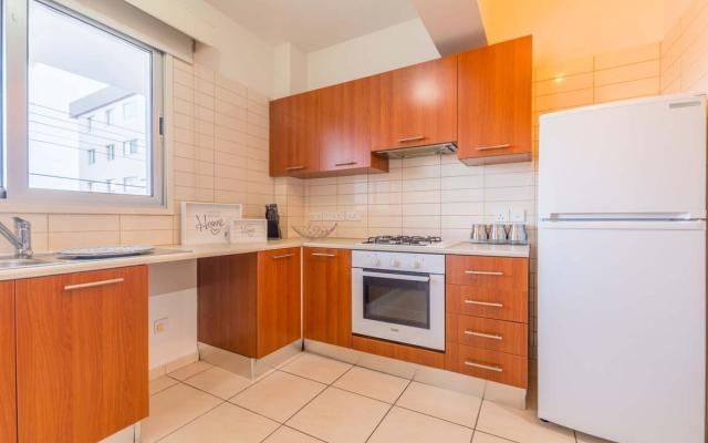 Kitchen in 3 bed apartment for sale in Larnaca