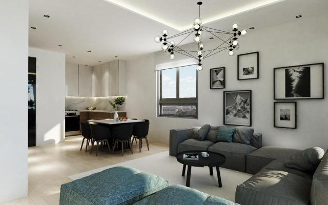 Living Area in apartment for sale in Larnaca Town