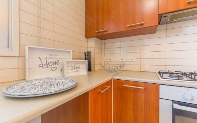 Bright kitchen in property for sale in Larnaca