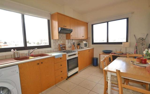 Kitchen in apartment for sale in Larnaca