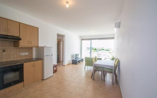 Kitchen in apartment for sale in Paralimni