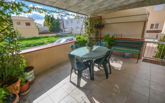 Veranda in apartment for sale in Paralimni