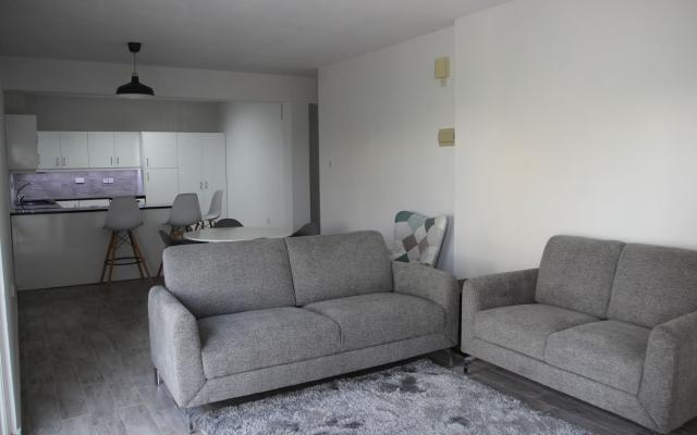 living area in 2 bed apt for sale in Paralimni